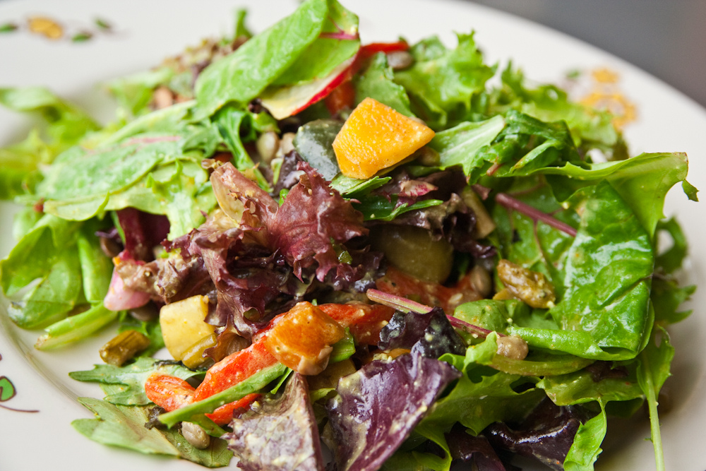 how to make green Salad
