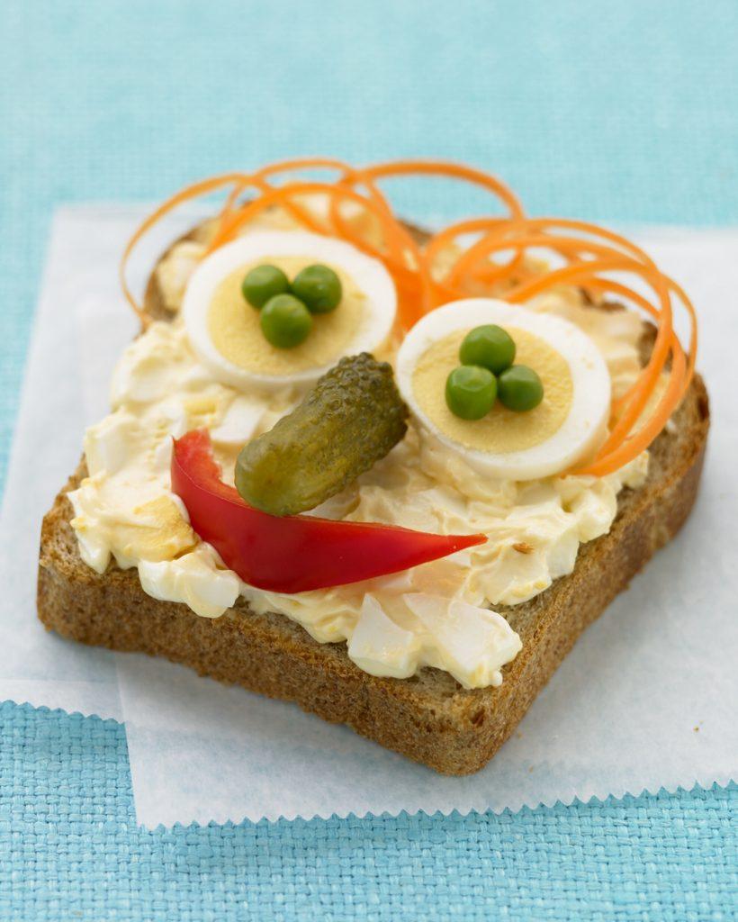 "Open ""Face"" Egg Salad Sandwich Recipes"
