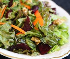 Classic Mixed Green Salad Recipe